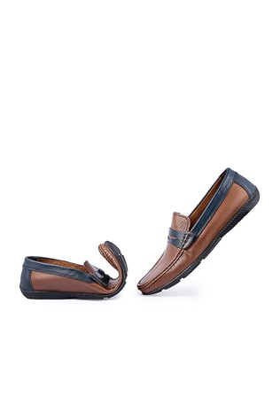 Men's Shoes - Brown and blue  795965692