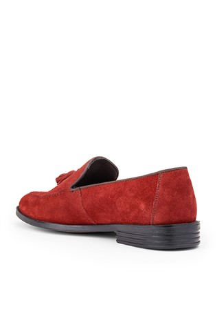 Men's Shoes - Red  362514789