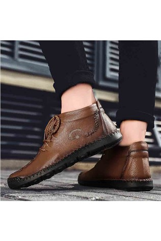 Men's shoes 6018 - Brown 22057626