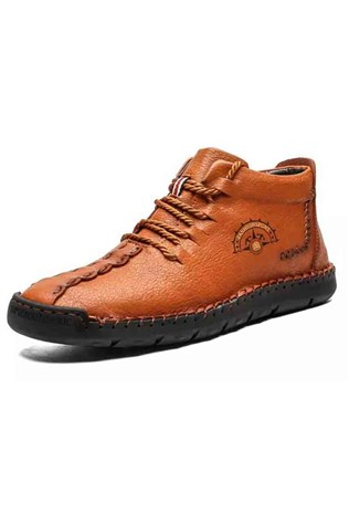 Men's shoes 6018 - Χακί 22057624