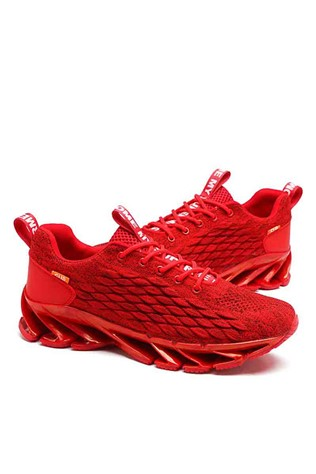 Men's shoes 6839 - Red 22057627