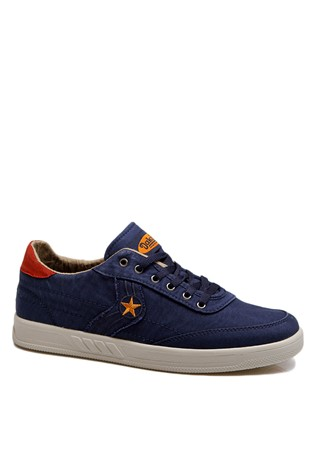 Men's shoes blue denim 201929