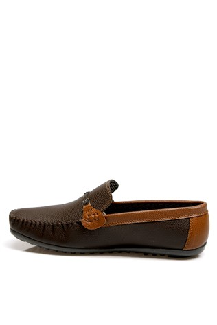 Men's shoes brown leather 2 201938