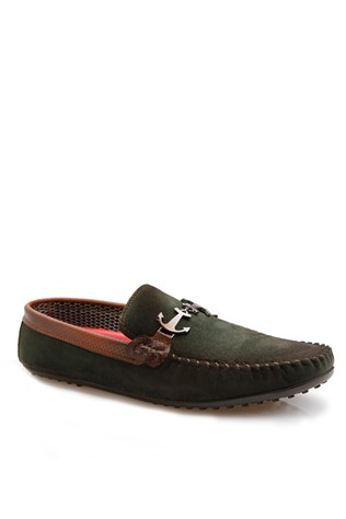 Men's shoes green 20183116