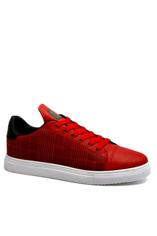 Men's shoes red 201931
