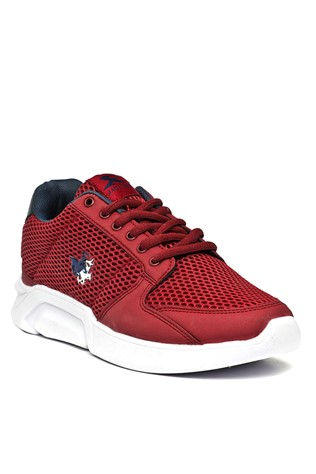 Men's shoes red 201932