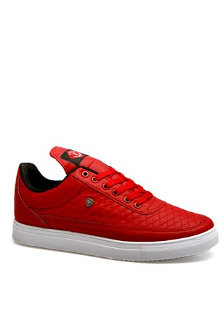 Men's shoes red 201934