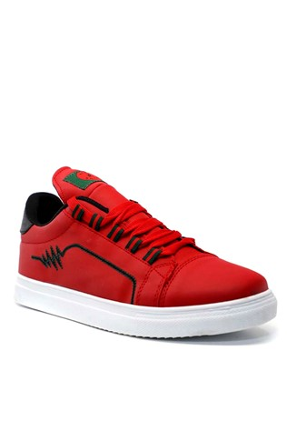 Men's shoes red 201944