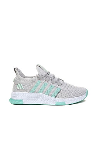 Men's sneakers 515 - Light grey and mint 2021667