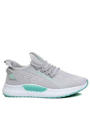 Men's sneakers 550 - Light grey and mint  2021663