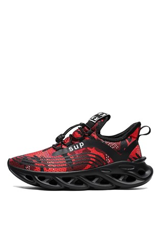 Men's Sneakers Camouflage Red 202186