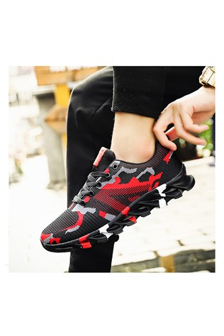 Men's Sneakers Camouflage/Red 202174