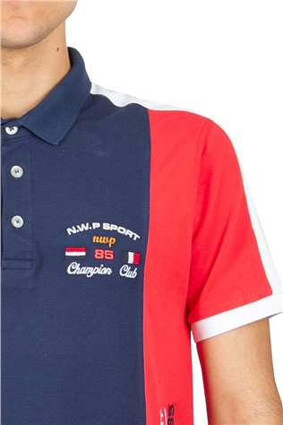 Men's T-Shirt GPC - Red/Blue 23510815