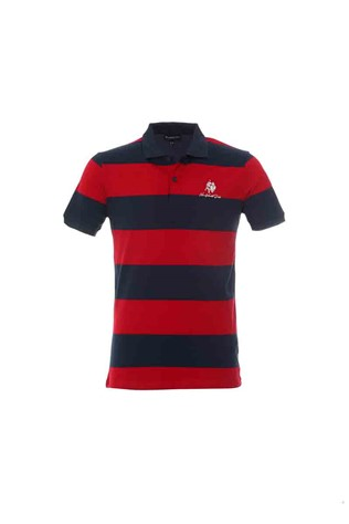 Men's T-Shirt GPC - Red/Blue 23510834