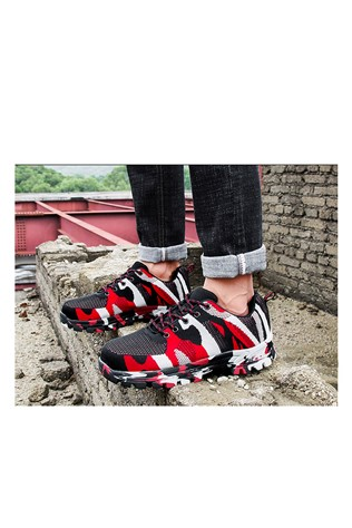 Men's Travel Shoes Camouflage/Red  202179