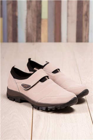 Men's Travel Shoes Nabuk Beige 202290