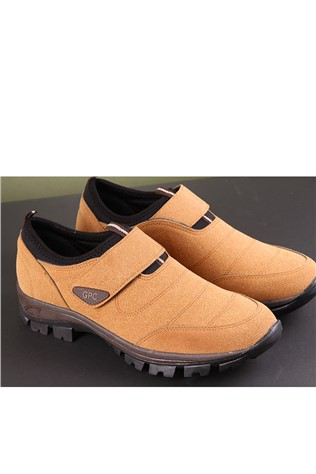 Men's Travel Shoes Nabuk Camel 202297