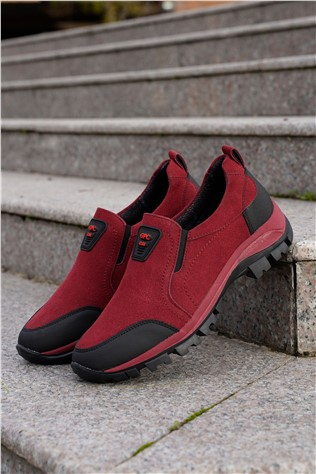 Men's Travel Shoes Red 202282