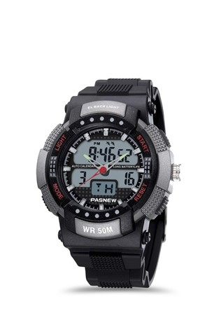 Men's watch Pasnew Μαύρα PSE361-N3