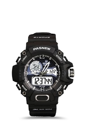 Men's watch Pasnew Μαύρα PSE468-N1