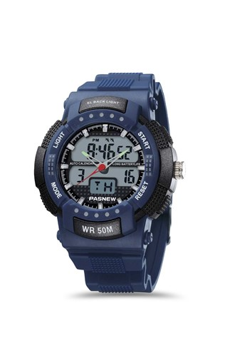 Men's watch Pasnew Dark Blue PSE-361