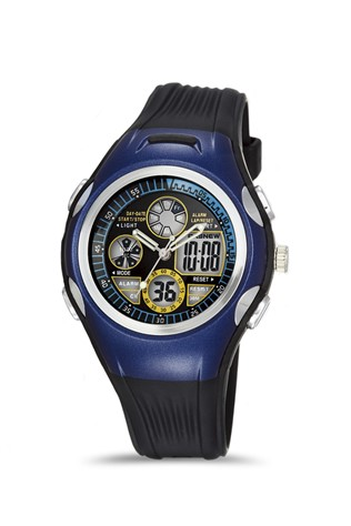 Men's watch Pasnew Dark Blue PSE305B-N3
