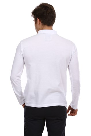 N-star Bmn-012 Men's White Sweatshirt