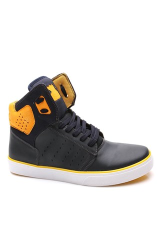 N-star 1500 Dark Blue Yellow Sport Men's Shoe