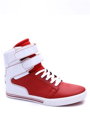 N-star 1700 Red-White Sport Men's Shoe