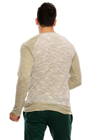 N-star 44024  Men's Green Sweater