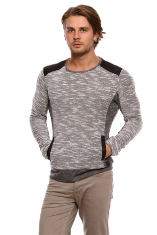 N-star 44018 Men's Grey Tricot