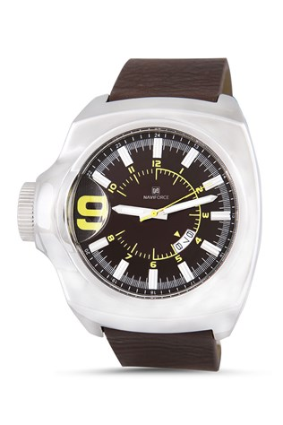 Naviforce Nv075 hnedá watch