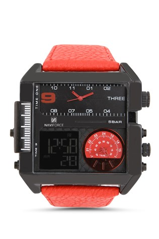 Naviforce Nv136 červená watch