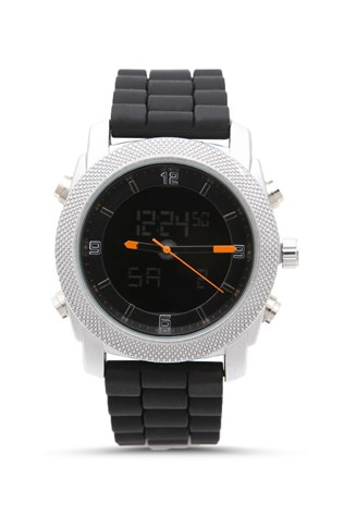 Naviforce Nv203 Black-orange pánské's watch