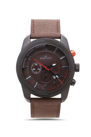 Naviforce Nv206 hnedá watch