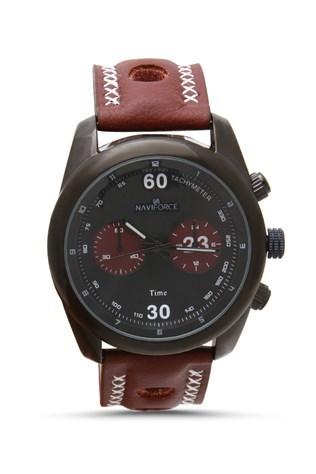 Naviforce Nv207 bordó červený watch