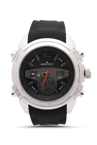 Naviforce Nv208 Black-red watch