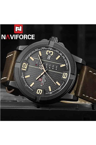 Naviforce Watch NF9177M - Brown/Black 231700128