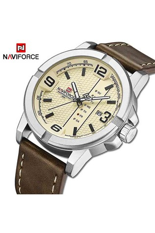 Naviforce Watch NF9177M - Brown/White 231700129