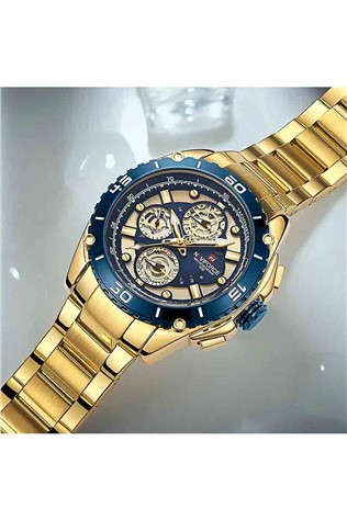 Naviforce Watch NF9179M - Gold/Blue 231700133