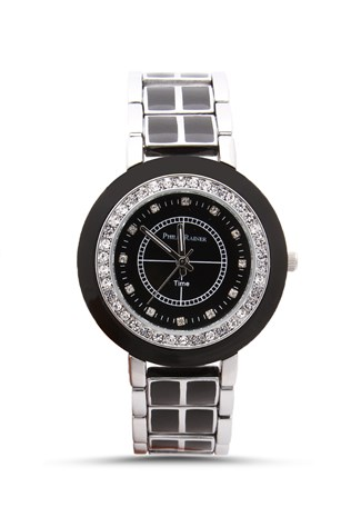 Philip Rainer Pr003 stříbro-black lady's watch