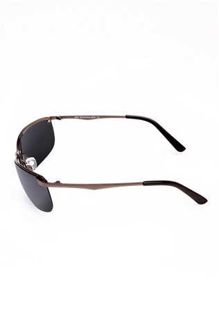 Polarized 844 Silver/black Sunglasses