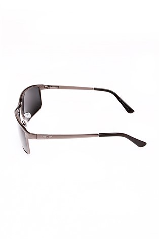 Polarized 845 Silver/black Sunglasses
