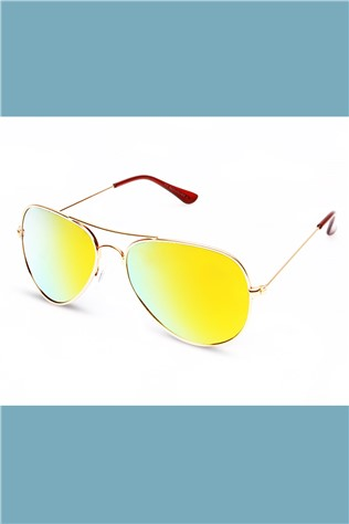 Polarized 901 Gold/yellow Sunglasses