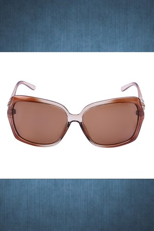 Polarized R003 63 O14 123 Coffee Sunglasses