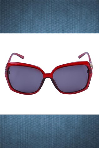 Polarized R003 63 O14 123 Red Sunglasses