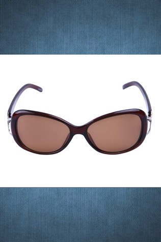 Polarized R007 57o16 120 Coffee Sunglasses