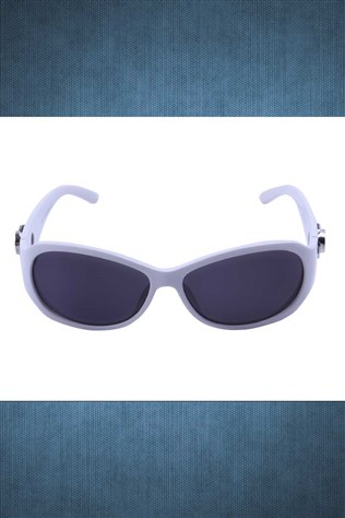 Polarized R008 C01 58o18-128 White Sunglasses