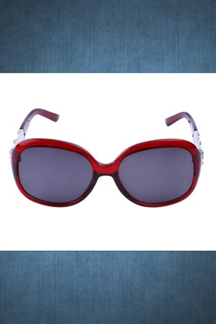 Polarized R008 C01 58o18-128 Red Sunglasses