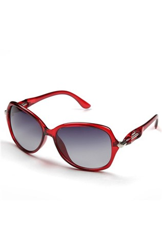 Polo 55 Slgp-lm-3141-c Women's Red Sunglasses